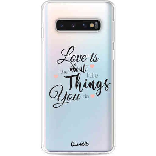 Casetastic Softcover Samsung Galaxy S10 - Love is about