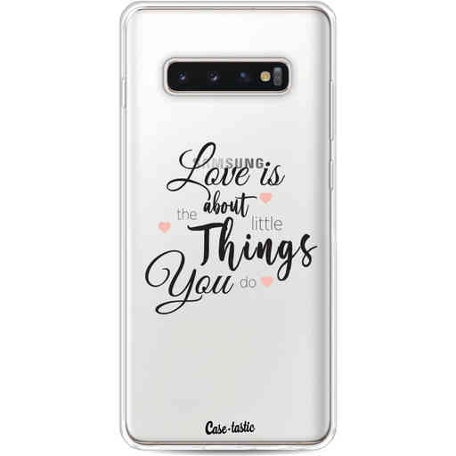Casetastic Softcover Samsung Galaxy S10 Plus - Love is about