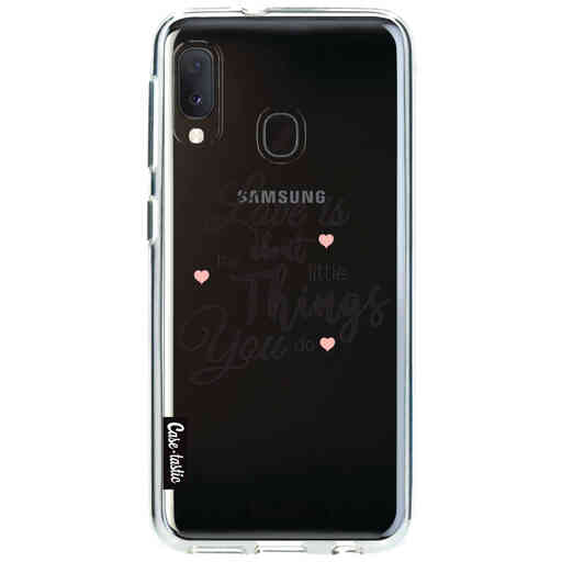 Casetastic Softcover Samsung Galaxy A20e (2019) - Love is about