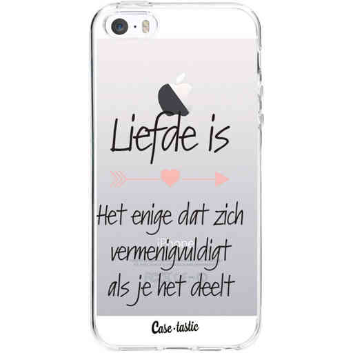 Casetastic Softcover Apple iPhone 5 / 5s / SE - Liefde is
