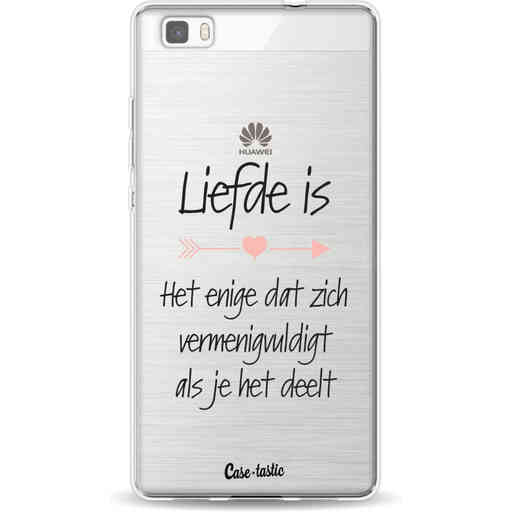 Casetastic Softcover Huawei P8 Lite - Liefde is