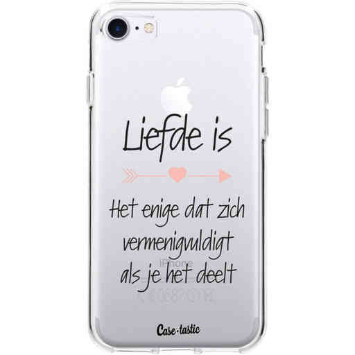 Casetastic Softcover Apple iPhone 7 / 8 - Liefde is