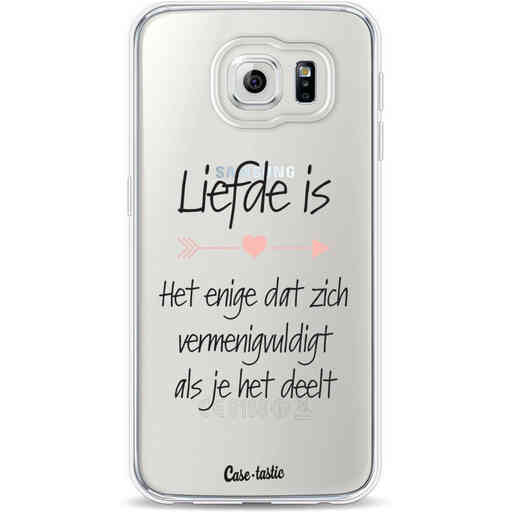 Casetastic Softcover Samsung Galaxy S6 - Liefde is