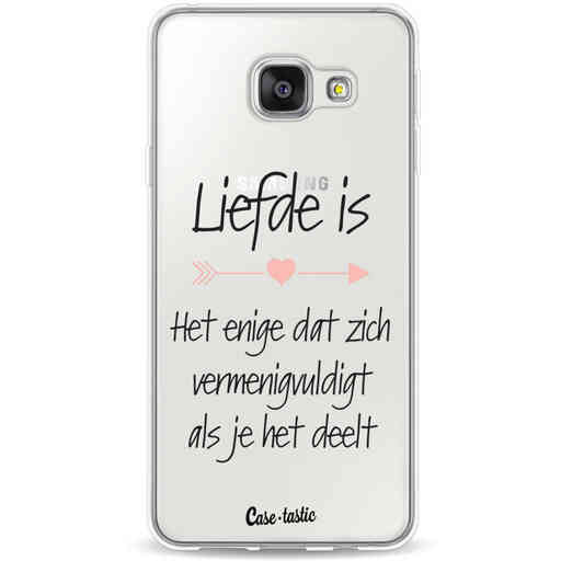 Casetastic Softcover Samsung Galaxy A3 (2016) - Liefde is