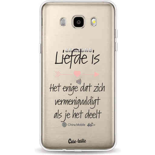 Casetastic Softcover Samsung Galaxy J5 (2016) - Liefde is
