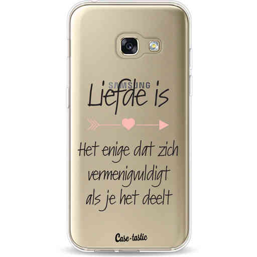 Casetastic Softcover Samsung Galaxy A3 (2017)  - Liefde is