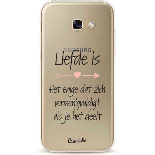 Casetastic Softcover Samsung Galaxy A5 (2017) - Liefde is