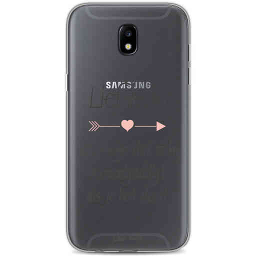 Casetastic Softcover Samsung Galaxy J5 (2017) - Liefde is