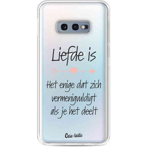 Casetastic Softcover Samsung Galaxy S10e - Liefde is