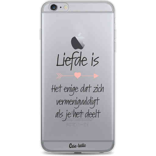 Casetastic Softcover Apple iPhone 6 Plus / 6s Plus - Liefde is