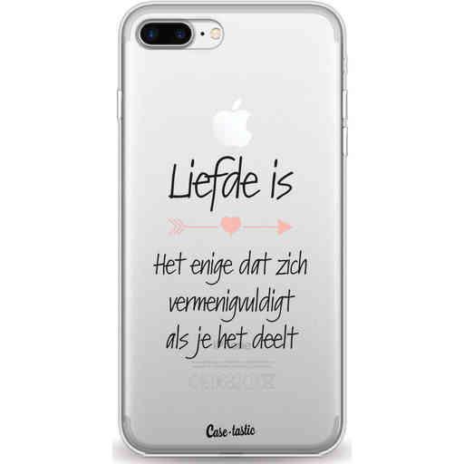 Casetastic Softcover Apple iPhone 7 Plus / 8 Plus - Liefde is