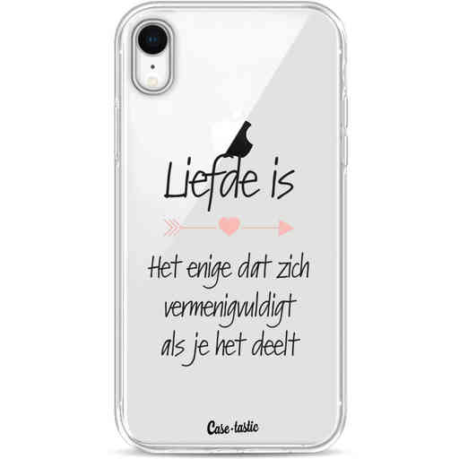 Casetastic Softcover Apple iPhone XR - Liefde is