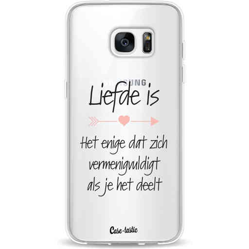 Casetastic Softcover Samsung Galaxy S7 Edge - Liefde is