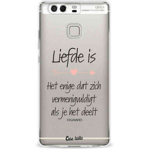 Casetastic Softcover Huawei P9 - Liefde is