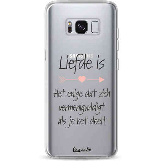 Casetastic Softcover Samsung Galaxy S8 - Liefde is