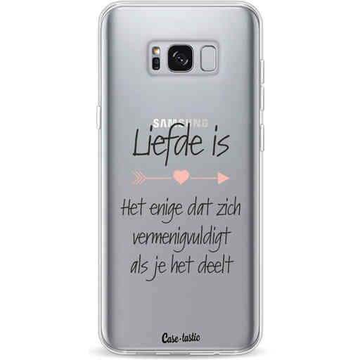 Casetastic Softcover Samsung Galaxy S8 Plus - Liefde is