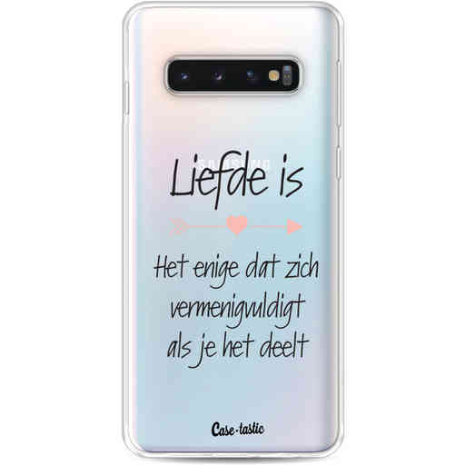 Casetastic Softcover Samsung Galaxy S10 - Liefde is