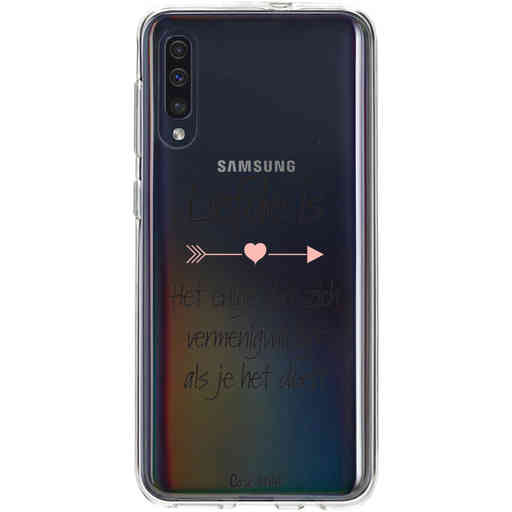 Casetastic Softcover Samsung Galaxy A50 (2019) - Liefde is