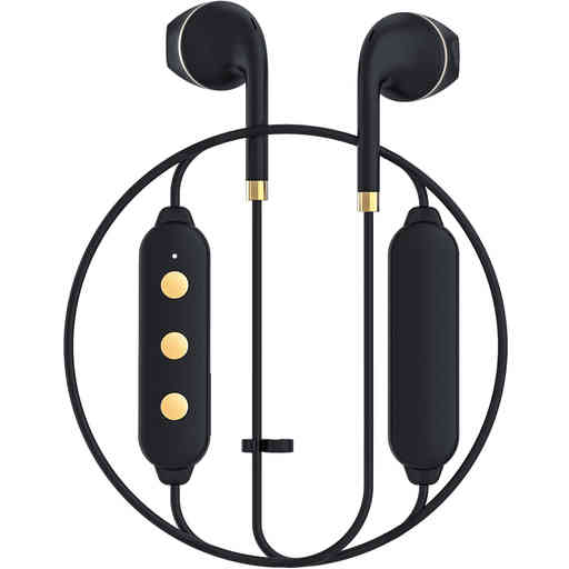 Happy Plugs Wireless II Black Gold
