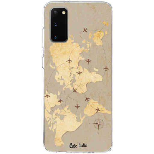 Casetastic Softcover Samsung Galaxy S20 - World Traveler