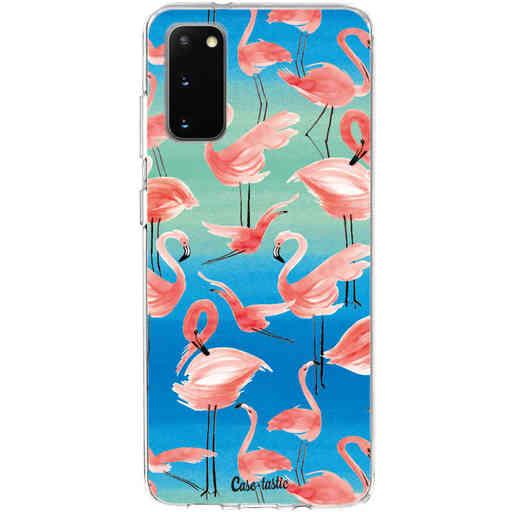 Casetastic Softcover Samsung Galaxy S20 - Flamingo Vibe