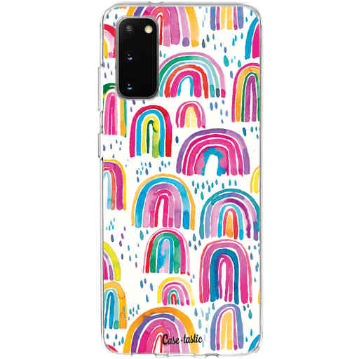 Casetastic Softcover Samsung Galaxy S20 - Sweet Candy Rainbows