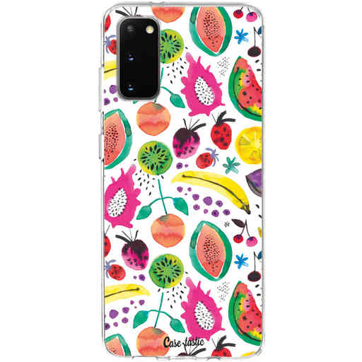 Casetastic Softcover Samsung Galaxy S20 - Tropical Fruits