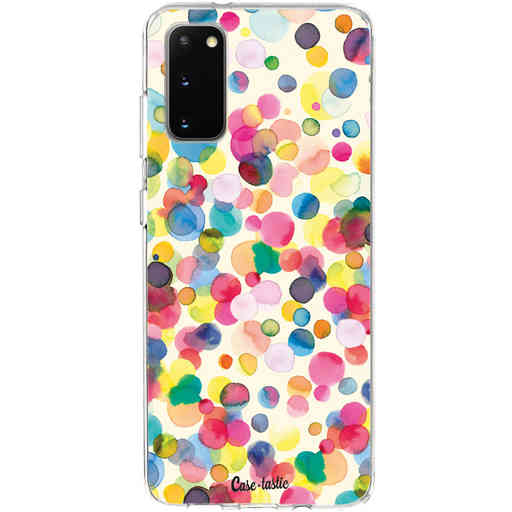 Casetastic Softcover Samsung Galaxy S20 - Watercolor Confetti