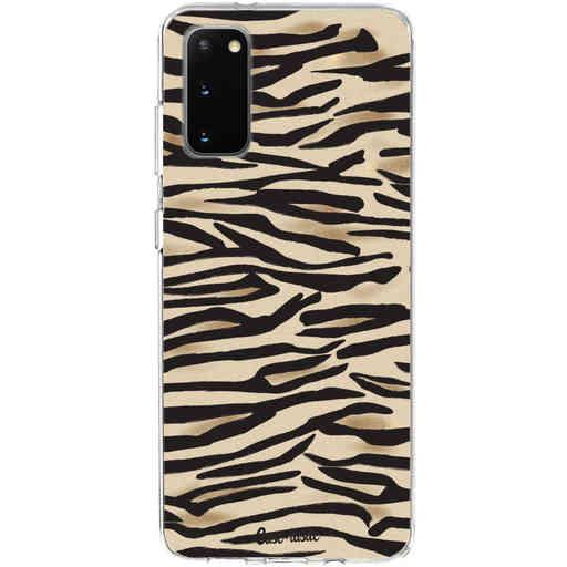 Casetastic Softcover Samsung Galaxy S20 - Savannah Zebra