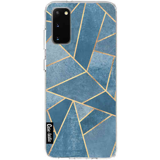 Casetastic Softcover Samsung Galaxy S20 - Dusk Blue Stone