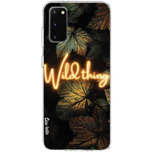 Casetastic Softcover Samsung Galaxy S20 - Wild Thing