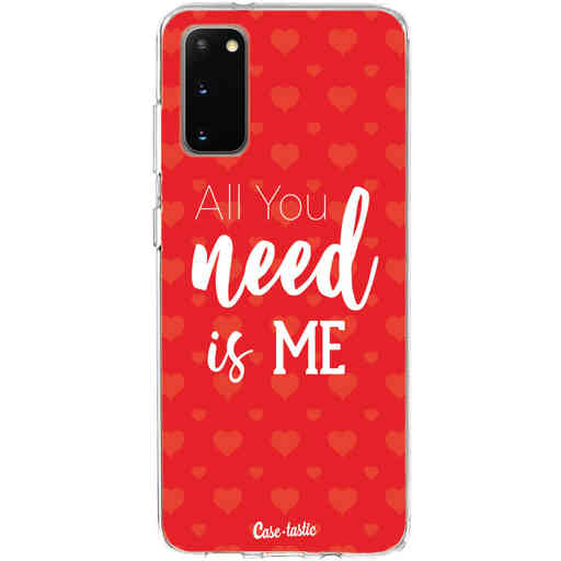 Casetastic Softcover Samsung Galaxy S20 - All you need is me