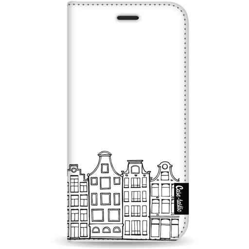 Casetastic Wallet Case White Samsung Galaxy S20 - Amsterdam Canal Houses