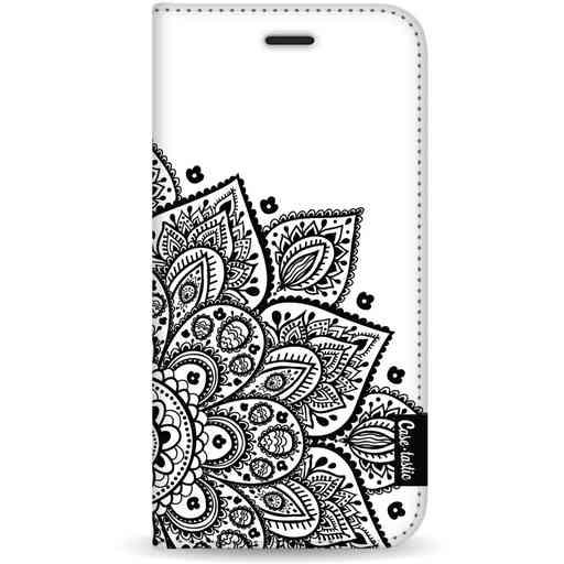 Casetastic Wallet Case White Samsung Galaxy S20 - Floral Mandala