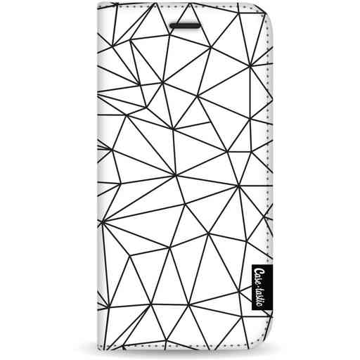 Casetastic Wallet Case White Samsung Galaxy S20 - So Many Lines! Black