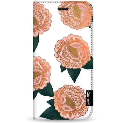 Casetastic Wallet Case White Samsung Galaxy S20 - Winterly Flowers