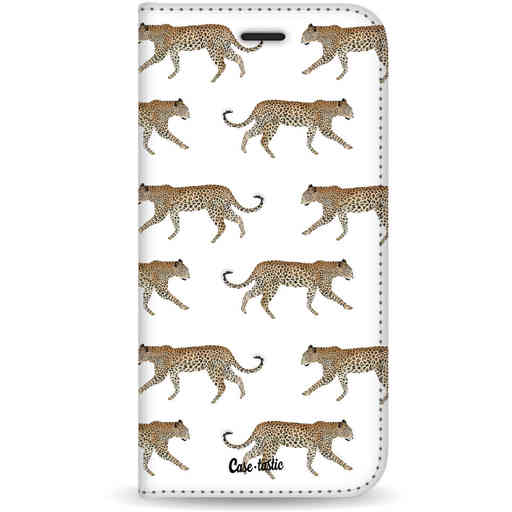 Casetastic Wallet Case White Samsung Galaxy S20 - Hunting Leopard