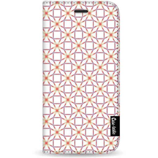 Casetastic Wallet Case White Samsung Galaxy S20 - Geometric Lines Sweet