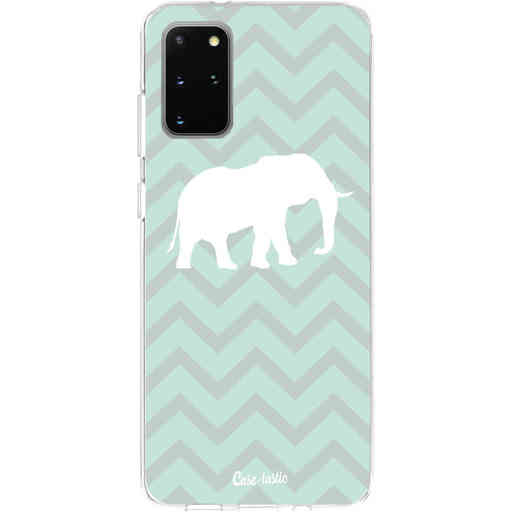 Casetastic Softcover Samsung Galaxy S20 Plus - Elephant Chevron Pattern