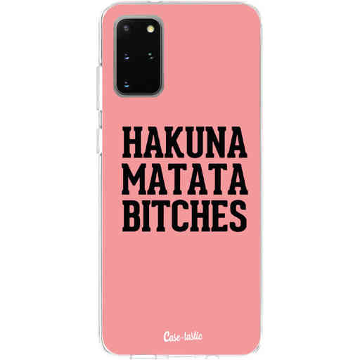 Casetastic Softcover Samsung Galaxy S20 Plus - Hakuna Matata Bitches