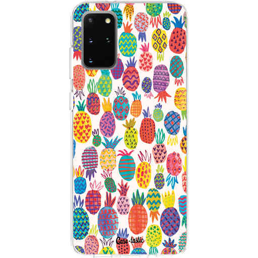 Casetastic Softcover Samsung Galaxy S20 Plus - Happy Pineapples