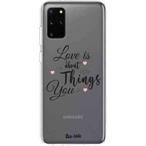 Casetastic Softcover Samsung Galaxy S20 Plus - Love is about