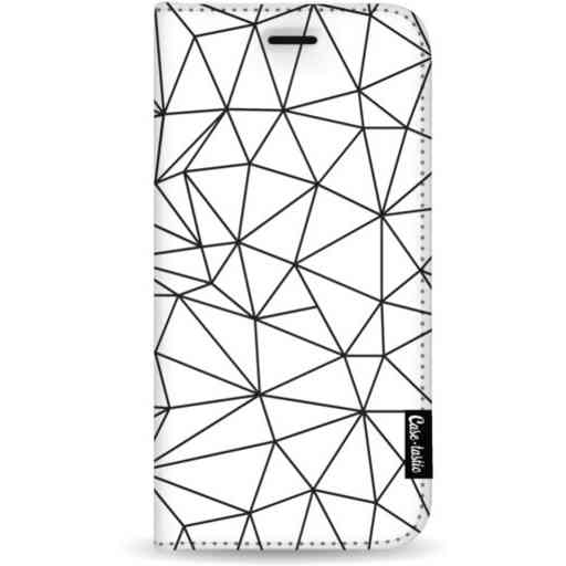 Casetastic Wallet Case White Samsung Galaxy S20 Plus - So Many Lines! Black