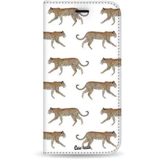 Casetastic Wallet Case White Samsung Galaxy S20 Plus - Hunting Leopard