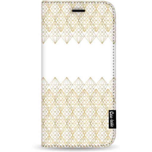 Casetastic Wallet Case White Samsung Galaxy S20 Plus - Golden Diamonds
