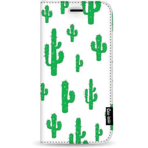 Casetastic Wallet Case White Samsung Galaxy S20 Plus - American Cactus Green