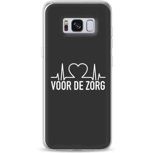 Casetastic Softcover Samsung Galaxy S8 - Hart voor de zorg