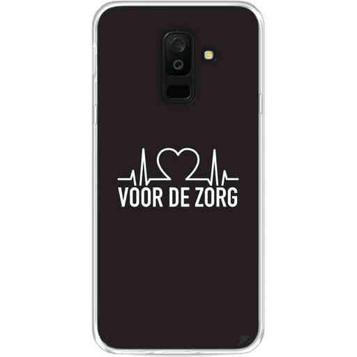 Casetastic Softcover Samsung Galaxy A6 Plus (2018) - Hart voor de zorg