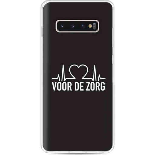 Casetastic Softcover Samsung Galaxy S10 Plus - Hart voor de zorg
