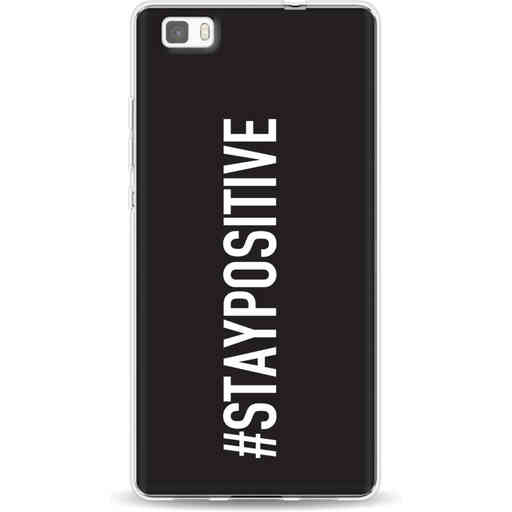 Casetastic Softcover Huawei P8 Lite (2015) - Stay Positive